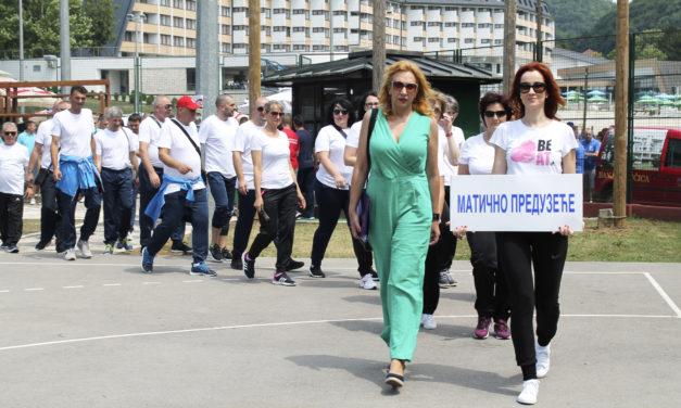Спортске игре радника Електропривреде РС од 15. до 17. јуна 2018. год.