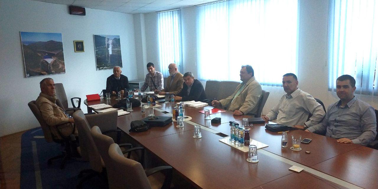 U direkciji MH ERS održan sastanak Radne grupe RiTE Ugljevik i RiTE Gacko