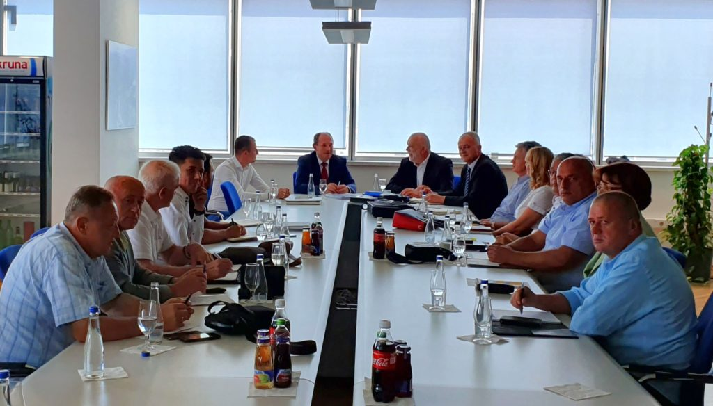 Записник са састанка Управе ЕРС са представницима Одбора синдиката ЕРС-а