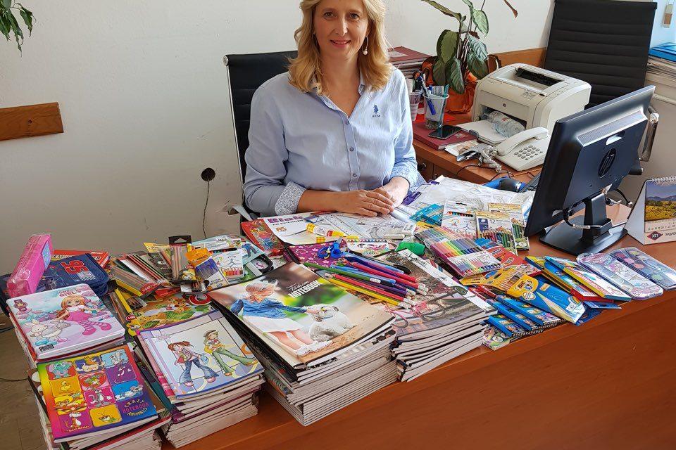 Školski pribor i udžbenici za mališane iz socijalno ugroženih porodica