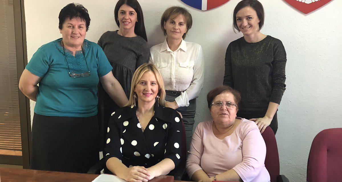 Весна Зуровац у посјети Активу жена и младих ХЕ на Врбасу