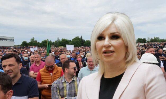 """""""STRUJNI UDAR"""" NA MINISTARKU: EPS podržao zaposlene u """"Kolubari"""""""